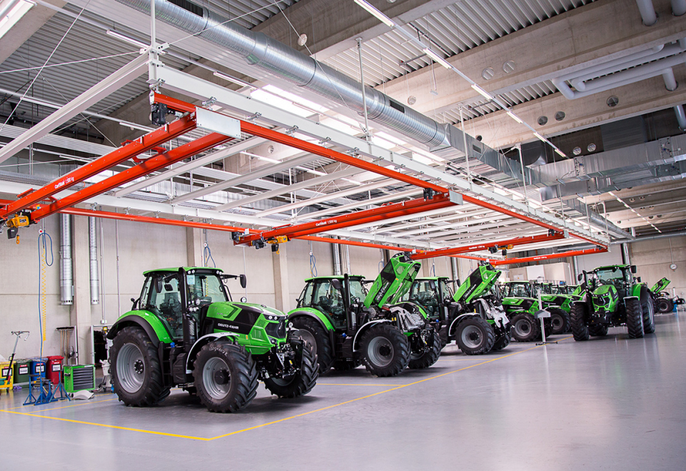 New tractor plant in Lauingen