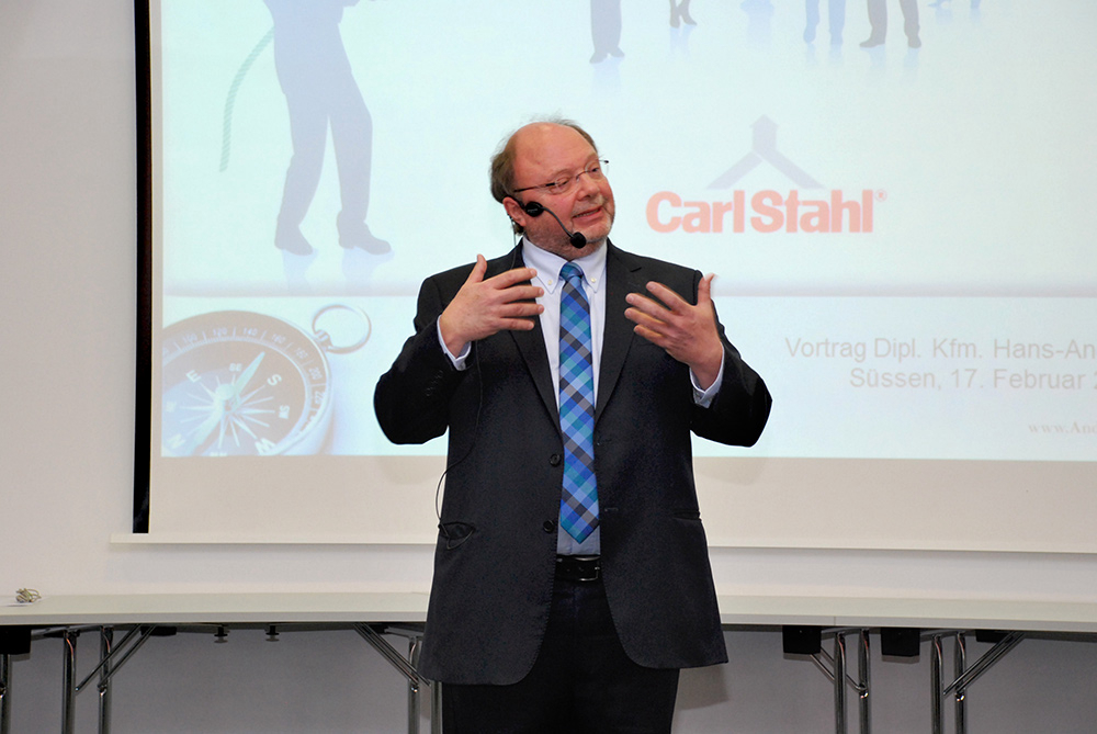 Seller Conference 2017 of Carl Stahl Hebetechnik GmbH