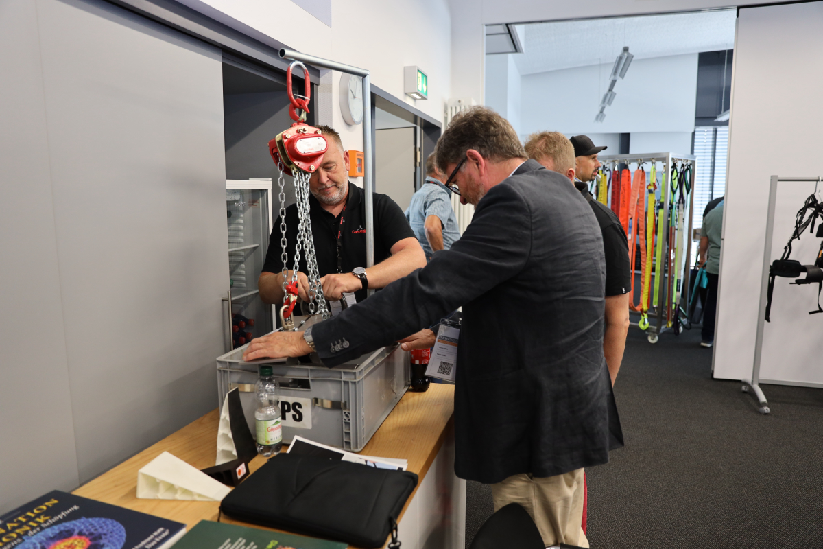 Review of the Customer Activity Day 2019 of Carl Stahl Süd GmbH